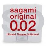 SAGAMI Original 0.02 (hộp 1)